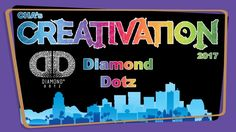 Diamond Dotz - Creativation 2017 - http://www.craftsbytwo.com/diamond-dotz-creativation-2017/ Diamond Dotz bring the ease of paint by number or needle work to a glittery new world! Make some shimmering art easily and at your own pace. Join us for an introduction to Diamond Dotz.