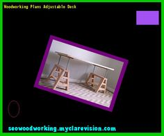 Woodworking Plans Adjustable Desk 123708 - Woodworking Plans and Projects!