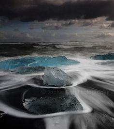 Le lac majestueux du Jökulsárlón en Islande
