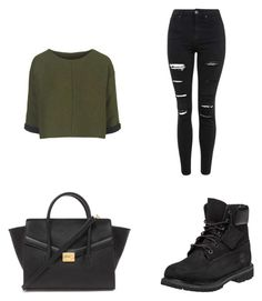 """""""Untitled #371"""" by anita-smiley on Polyvore featuring Topshop, Timberland and Forever 21"""