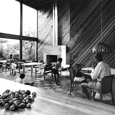 Endless Summer: 12 Lost Beach Houses+#refinery29 - SCALI HOUSE IN THE NEW YORK TIMES, 1967.