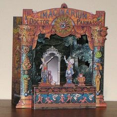 Imaginarium of Doctor Parnassus Paper Theater | Tektonten Papercraft