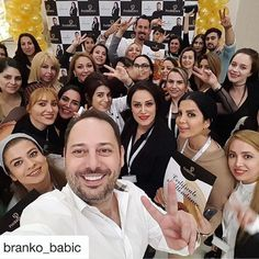 PhiBrows Türkiye  33 happy students by @branko_babic with @phibrows_bahararslan