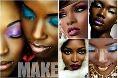 Maquiagem para Negras: dicas e truques