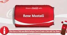 Coke Your Name - Share a Coke With Your Name - Facebook Fun App