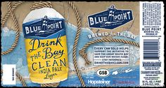 mybeerbuzz.com - Bringing Good Beers & Good People Together...: Blue Point - Drink The Bay Clean IPL