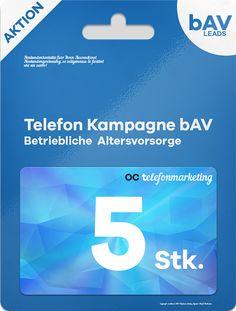 5 (fünf) bAV Leads