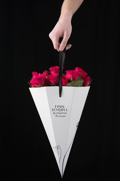 Flower packaging on Behance More