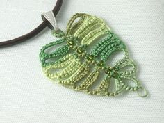 birch leaf,crochet
