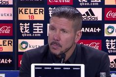 It was a good day to lose,says Atletico Madrid coach Diego Simeone