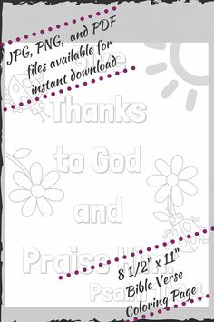 Psalm 1004 Coloring Page Bible Coloring Pages Pinterest Psalm 100