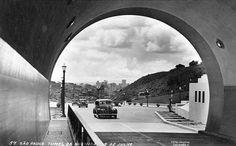 1957 - Túnel da avenida 9 de Julho.