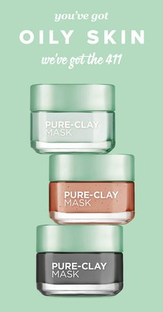 According to the International Dermal Institute, 50 percent of the adult population struggle with oily skin too. And with that annoying sheet of shine that settles on the surface of skin, often comes acne. But there are products that can offer some much-needed relief, like ones formulated with clay. Yep, the magical little puddy is a star in helping to keep skin looking mattified, which is why L'Oréal Paris incorporated it into its Pure-Clay Mask line. Check out how and why this stuff works.