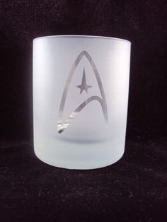 Star Trek Shot Glass. I will make these. The ideas are flowing....