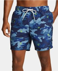 Fortune Lucky Cat Personality Pockets Men Board Shorts Surf Swim Trunk M-XXL