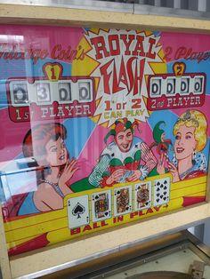 royal flush pinball machine value
