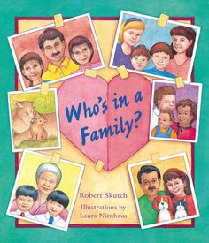 Pre K - 3rd grade. Family is important, but who's in a family? Why, the people who love you the most!This equal opportunity, open-minded picture book has no preconceptions about what makes a family a family. There's even equal time given to some of children's favorite animal families. With warm and inviting jewel-tone illustrations, this is a great book for that long talk with a little person on your lap.