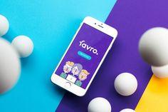 """다음 @Behance 프로젝트 확인: """"Favro"""" https://www.behance.net/gallery/45754829/Favro"""