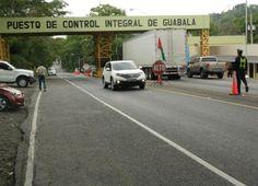 Puesto de Control Integral en Guabalá en Panamá, cerca de la frontera con Costa Rica.