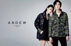 Yoo Yeon Seok and Choi Sora for Andew | cr: Andew FB