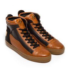 brand new 70230 61366 Maison Grande Cognac Designer Shoe by LHomme de Maison