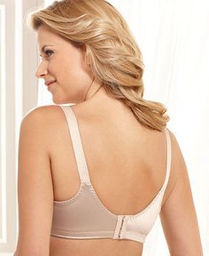 Bali Bra, Double Support Wireless Bra 3820 - Womens Bras - Macy's