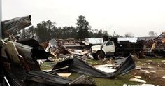 12 people were killed, 23 injured after a twister hit the southernmost area of Georgia. That brings the death toll to 16 from severe weather that rattled the South this weekend; 4 people were also killed when a tornado hit Hattiesburg, Mississippi.