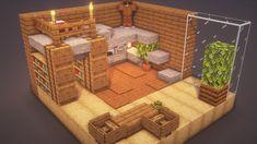 Minecraft Mansion, Minecraft Cottage, Easy Minecraft Houses, Minecraft House Tutorials, Minecraft Modern, Minecraft Room, Minecraft House Designs, Minecraft Decorations, Amazing Minecraft