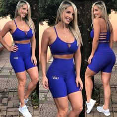 Top Grade Brocado Azul Looks Academia, Sexy Women, Athletic Outfits, Athletic Women, Sport Wear, Gorgeous Women, Fitspo, Female, Fitness Outfits