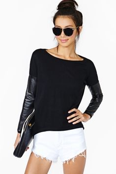 Tough It Out Knit in Black