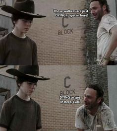 The 19 Greatest Dad Jokes From Rick Grimes/ The Walking Dead