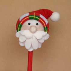 maracas navideñas en foami - Buscar con Google Pot A Crayon, Pencil Toppers, Christmas Crafts, Christmas Ornaments, Felt Crafts, Gifts For Kids, Projects To Try, Merry, Baby Shower