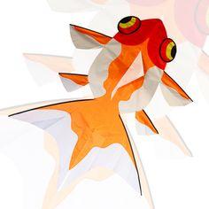 Aquatic Fish (2D Koi) - New Tech Kites