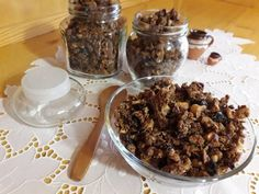 Házi crunchy müzli (cukormentes) Easy Meals, Easy Recipes, Cereal, Breakfast, Food, Yogurt, Easy Keto Recipes, Morning Coffee, Easy Food Recipes