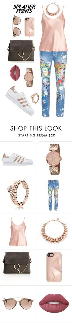 """""""Untitled #474"""" by maylamartha ❤ liked on Polyvore featuring adidas Originals, Palm Angels, La Perla, Ellen Conde, Chloé, Rebecca Minkoff, Christian Dior and Lime Crime"""