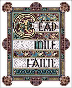 Cead Mile Failte (100,000 Welcomes)