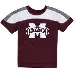 Mississippi State Bulldogs Colosseum Toddler Hydrogen T-Shirt - Maroon - $19.99