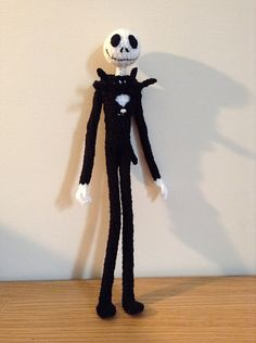 Jack Skellington is about 12.5 inches tall.