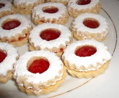 Amazing cookies. Melt in your mouth. Used apricot jelly. They also taste great with raspberry jelly.