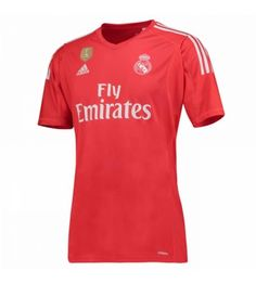 Real Madrid C.F Season Red Los Blancos Goalkeeper Jersey,all cheap Jerseys Shirts are AAA+ quality and fast shipping,wholesale and retail,all the uniforms will be shipped as soon as possible,guaranteed original Replica best quality China Kits Real Madrid Jersey 2017, Real Madrid Soccer, Soccer Kits, Football Kits, Soccer Socks, Soccer Jerseys, World Cup Jerseys, Soccer Store, Football Uniforms