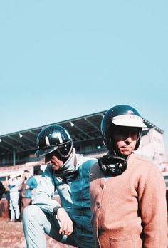 Graham Hill e Jim Clark