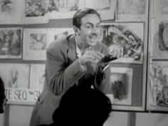 """Walt performs the """"poison apple"""" scene from Snow White.- fascinating article!"""