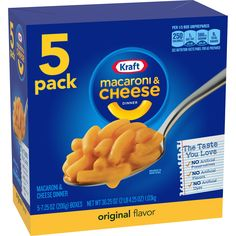 Macaroni And Cheese Kraft, Macaroni Pasta, Betty Crocker Fudge Brownies, Back To School Supplies List, Cheese Brands, Dinner Box, Making Mac And Cheese, Gluten Free Noodles, Easy To Make Dinners