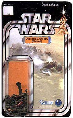Kenner finally got around to making Star Wars Uncle Owen and Aunt Beru action figures...
