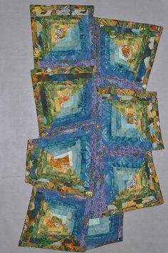 """Diane Wright Art Quilts - """"there was a crooked house"""" is my first thought. Love the baroque shape......"""