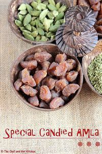 Amlas(Indian Gooseberries) are considered very good for health and as they are rich in vitamin-C, it is suggested to include them in o. Sweets Recipes, Candy Recipes, Fruit Recipes, Snack Recipes, Desserts, Indian Sweets, Indian Snacks, Indian Food Recipes, Postres
