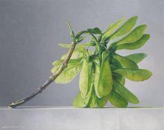 green - plant - painting - Jantina Peperkamp