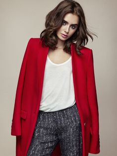 Lily Collins for STELLAR Magazine May 2015