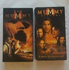 The Mummy Returns VHS Tapes Set Brendean Fraser