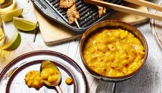 Ideal für Hähnchen, Pute und Co. Das Rezept für Salsa aus Mango, Orangensaft, Curry und Chilischote - raffiniert von Maggi.